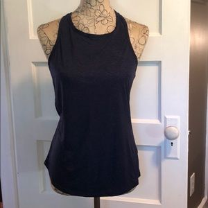 Carve Razor Back Tank Navy